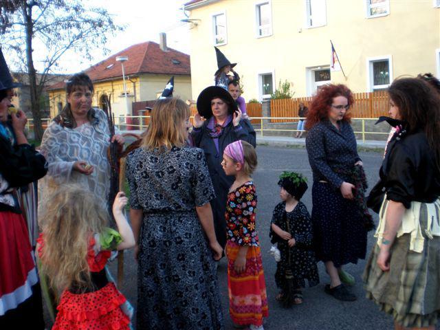 Koštice - čarodějnice
