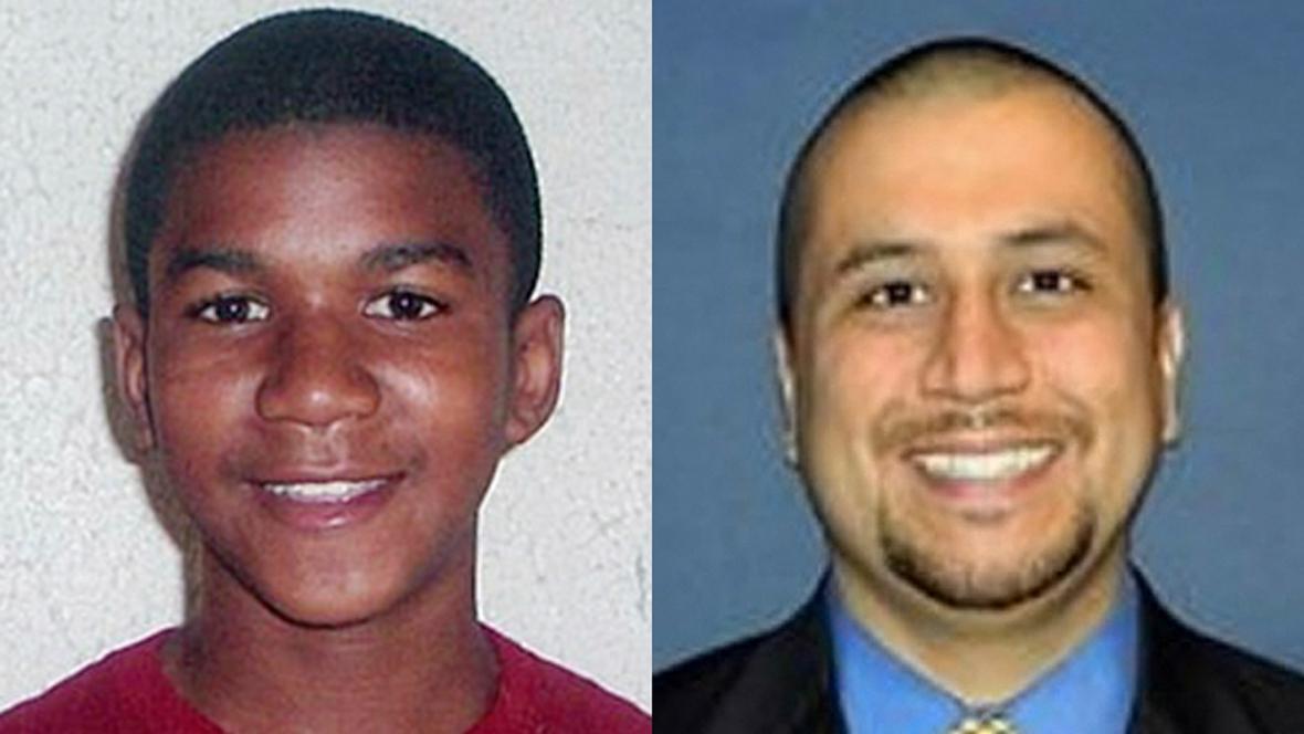 Trayvon Martin a George Zimmerman
