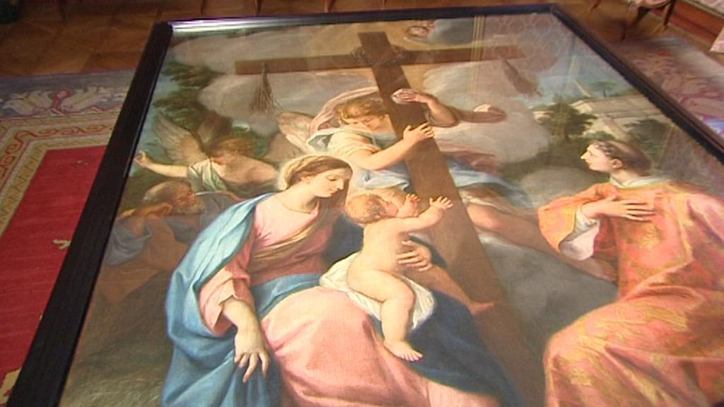 Mistrovský obraz Giuseppa Chiariho