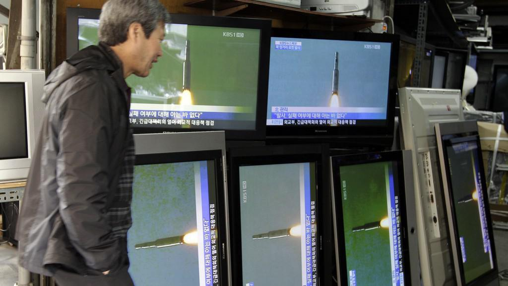 Start severokorejské rakety