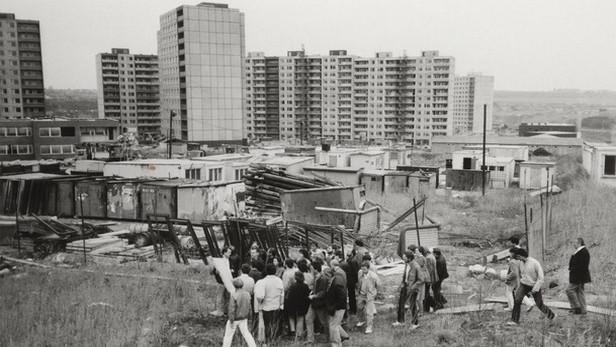 Exkurze architektů a projektantů na rozestavěné sídliště Lužiny