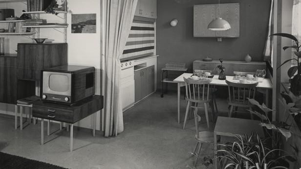 Interiéry bytů na Invalidovně