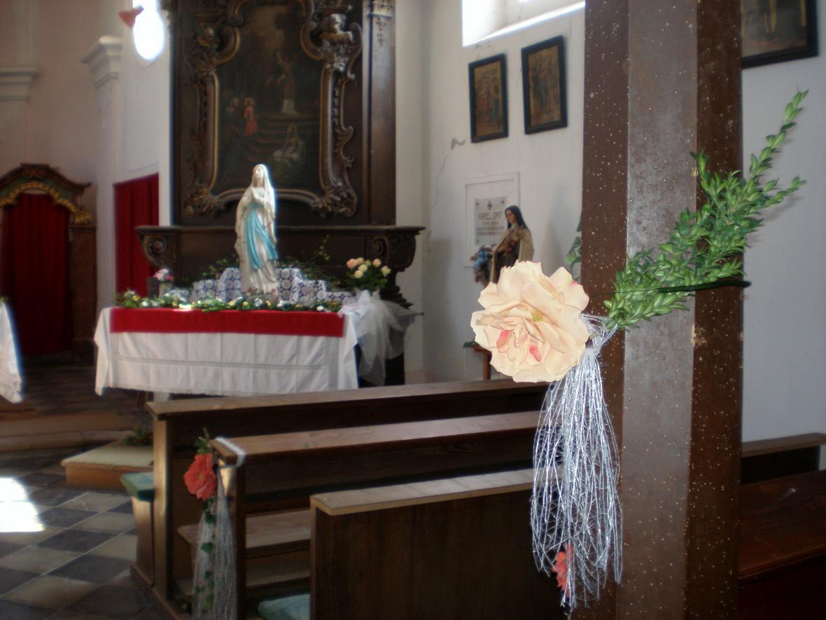 Z koštického kostela sv. Antonína Paduánského