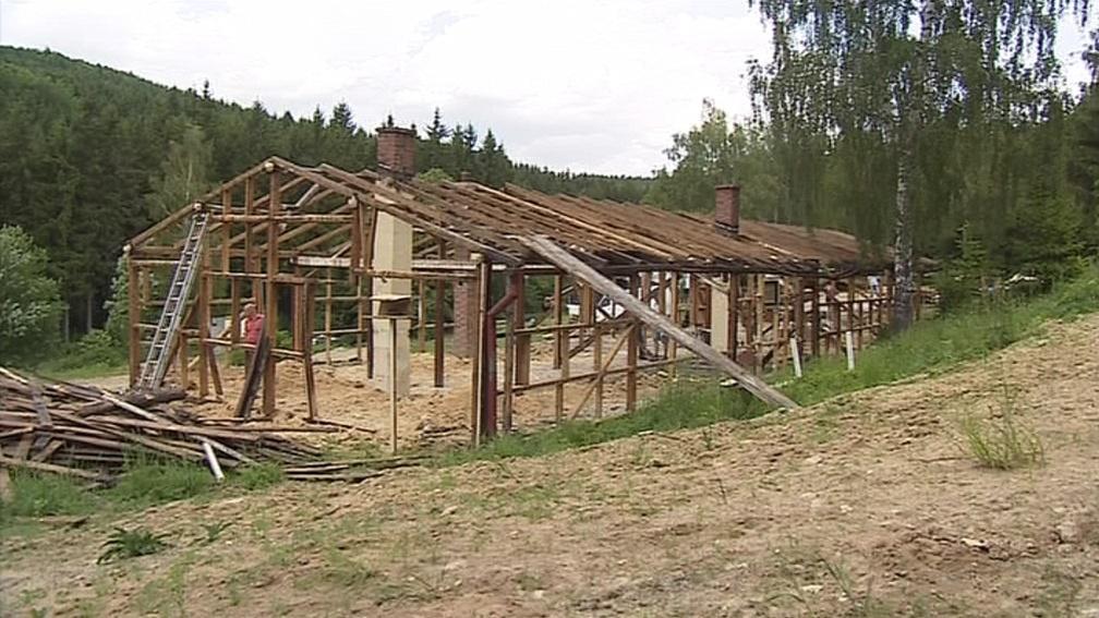 Rekonstrukce v Žalově už začala