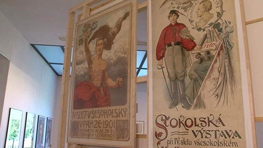 Výstava Slet sokolských plakátů