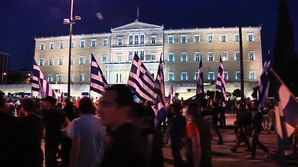 Pravicový pochod v Aténách