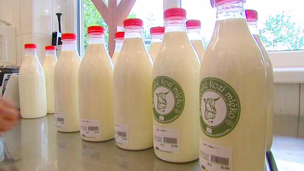 Kozí mléko s ekofarmy