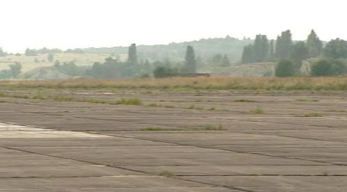 Plocha letiště Boží Dar v Milovicích