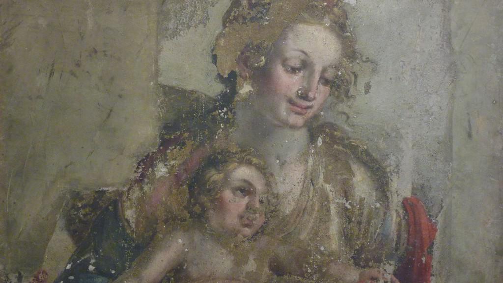 Dílo Albrechta Dürera / freska