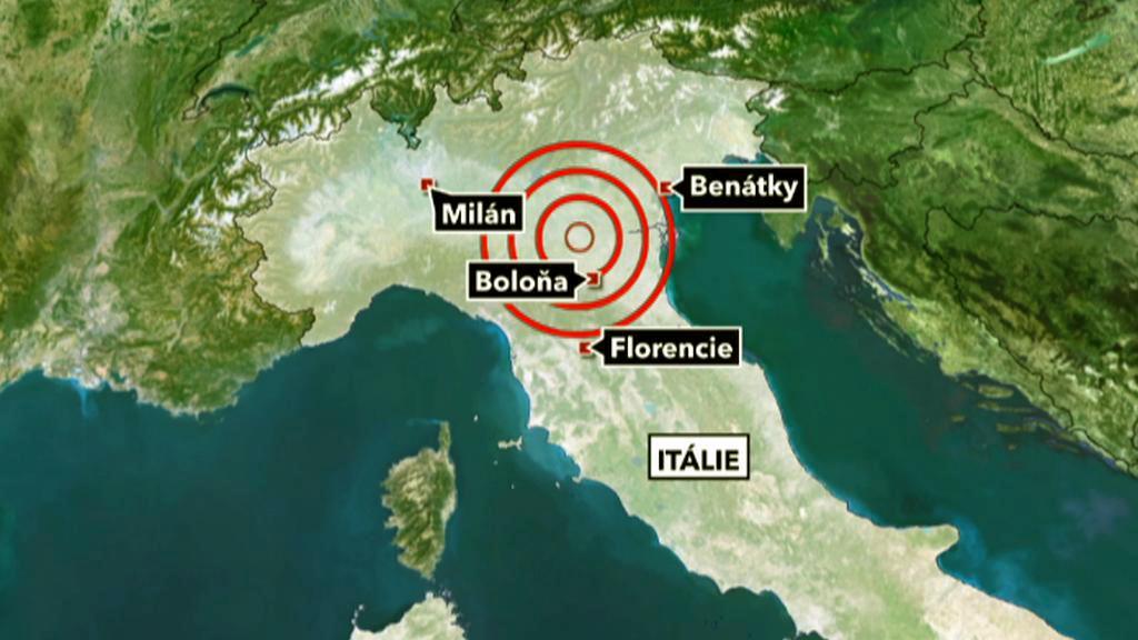 Zemětřesení v Itálii 29. května 2012
