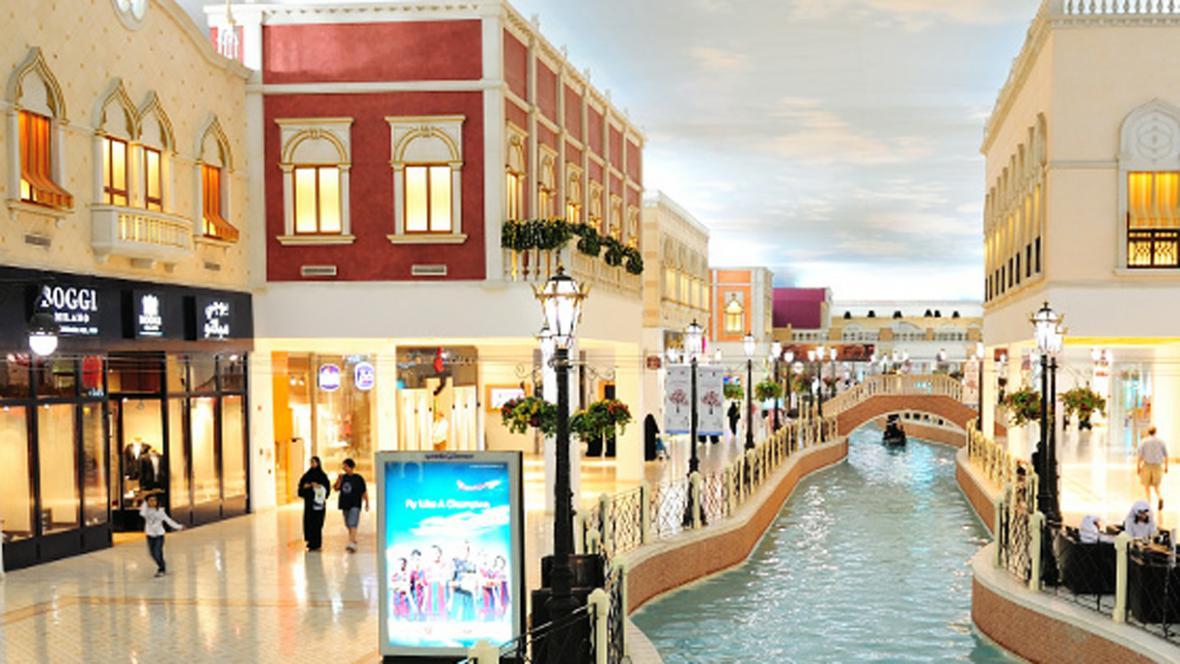 Obchodní centrum Villagio Mall v Dauhá