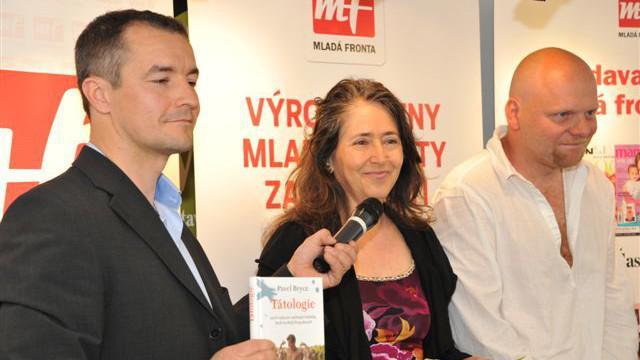 Předávání Literární ceny Arnošta Lustiga
