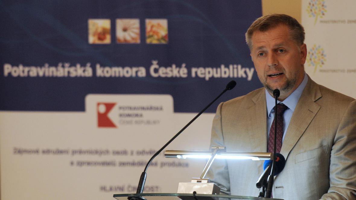 Petr Bendl na Žofínském fóru na téma českého zemědělství a potravinářství