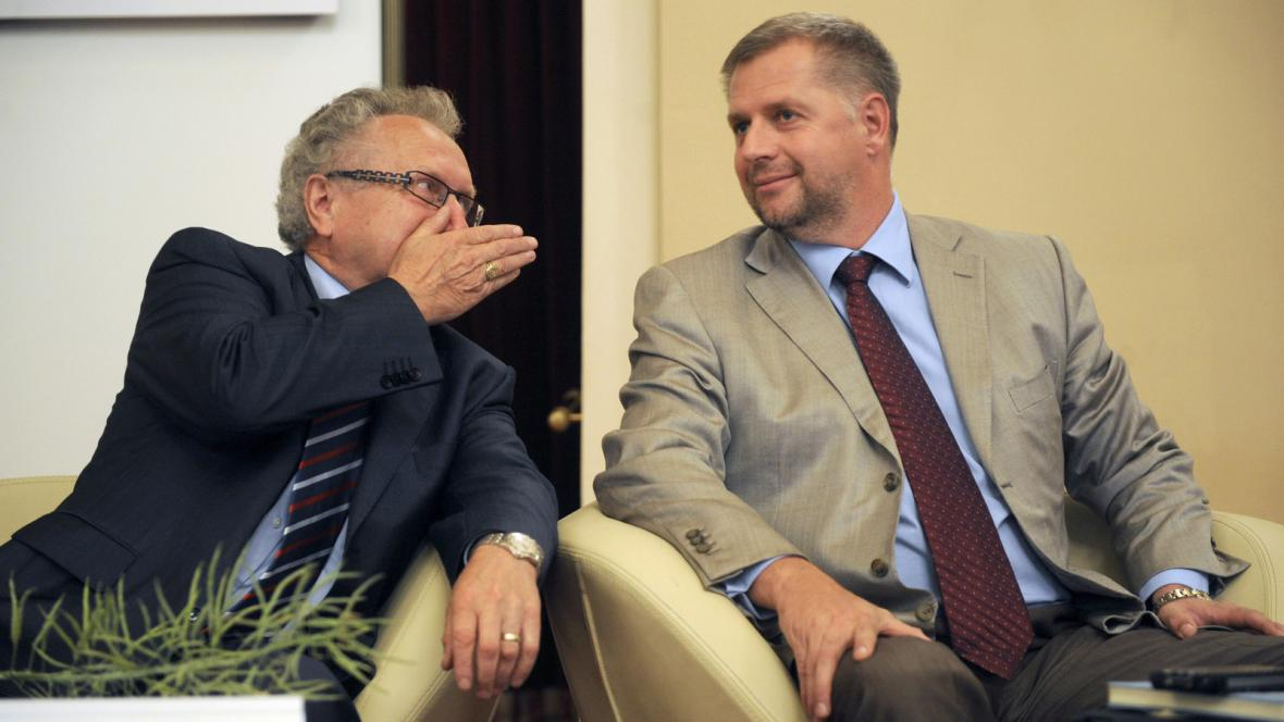 Jan Veleba a Petr Bendl