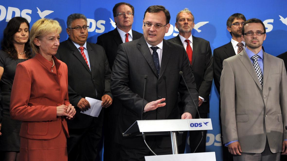 Představení lídrů ODS do krajských voleb