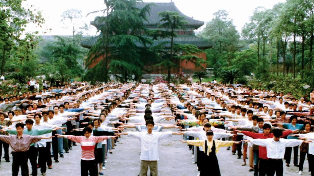 Cvičení Fa-lun-kung