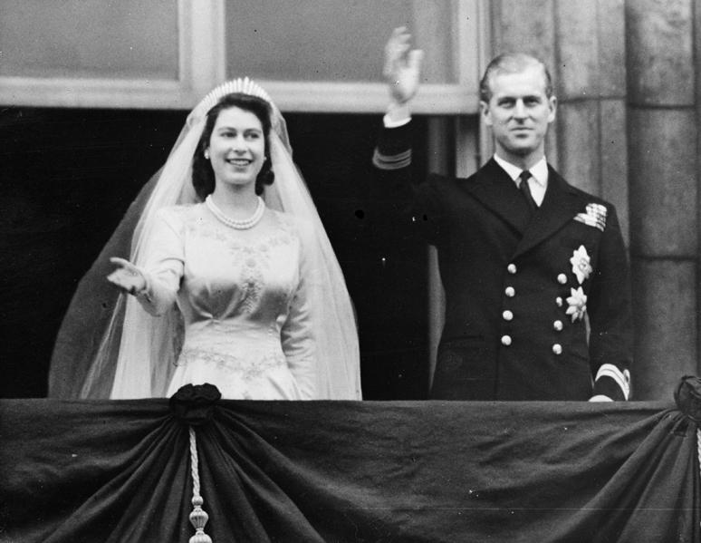 Svatba princezny Alžběty a prince Philipa