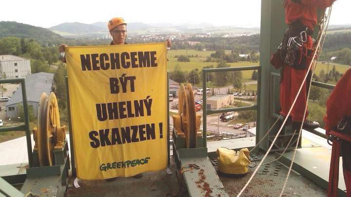 Greenpeace ve Frenštátu