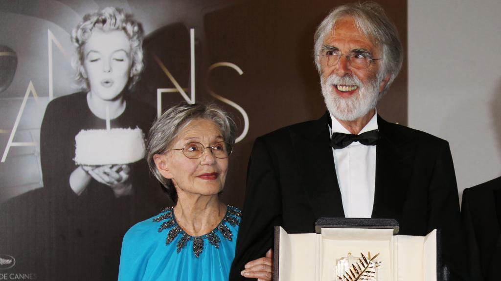 Michael Haneke s Emmanuelle Rivaovou