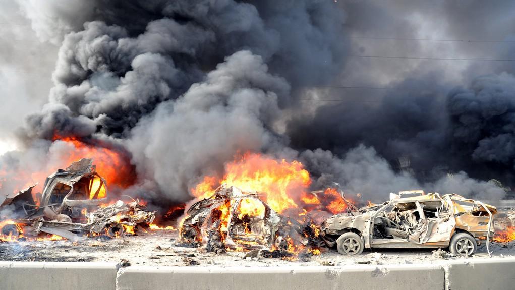 Výbuch v Sýrii