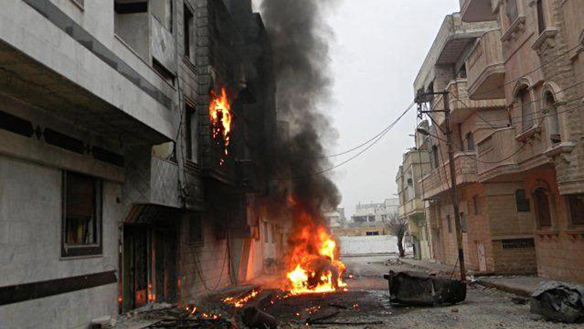 Výbuchy v Dará