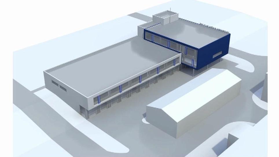 Návrh nového sídla záchranky