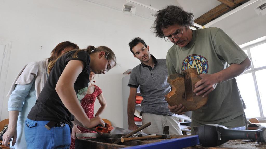 František Skála vede kytarový workshop