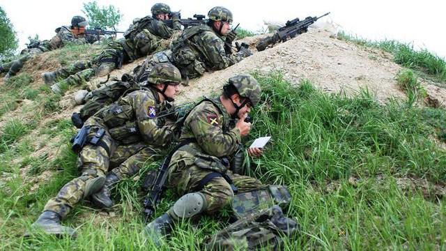 Vojáci PRT na Libavé