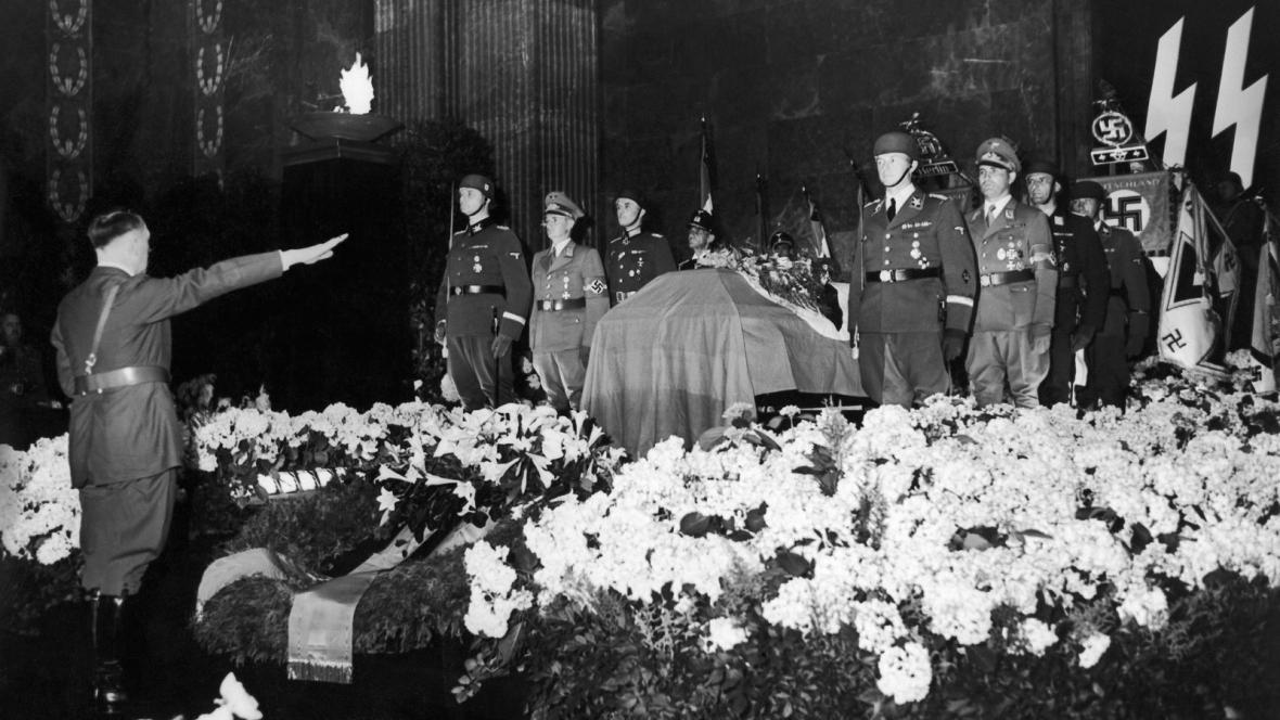 Pohřeb Reinharda Heydricha v Berlíně