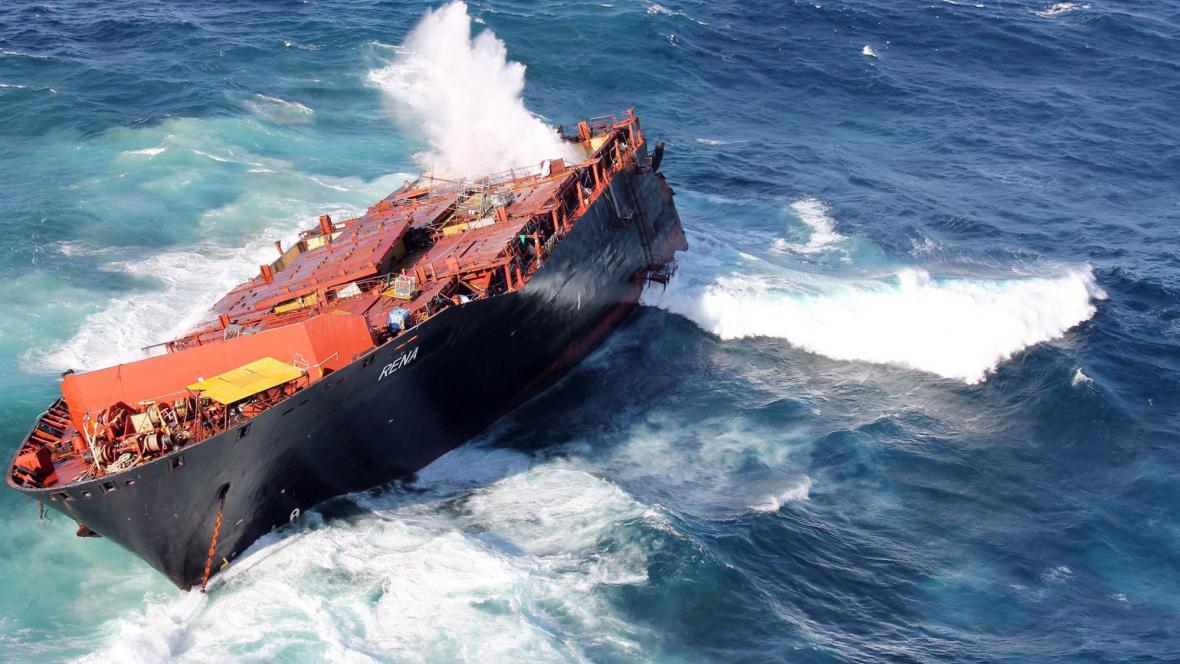 Loď MV Rena