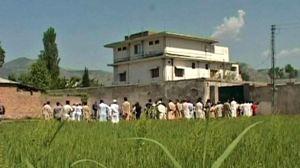 Dům Usámy bin Ládina v Abbottábádu