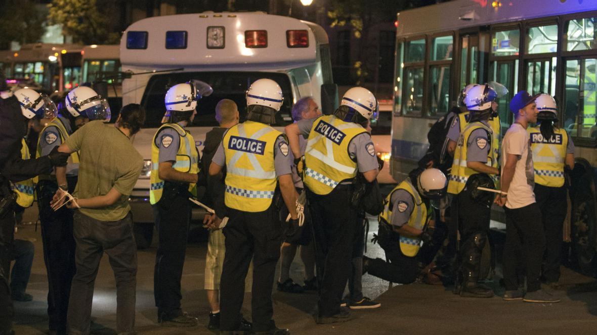 Policie v Quebeku zasáhla proti demonstrantům
