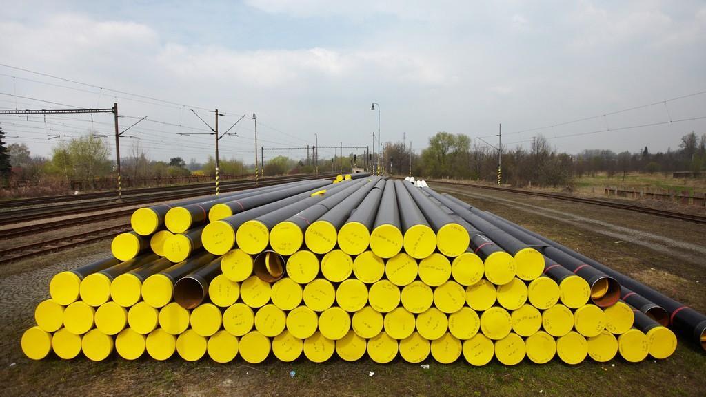 Výstavba plynovodu Net4Gas Třanovice - Český Těšín
