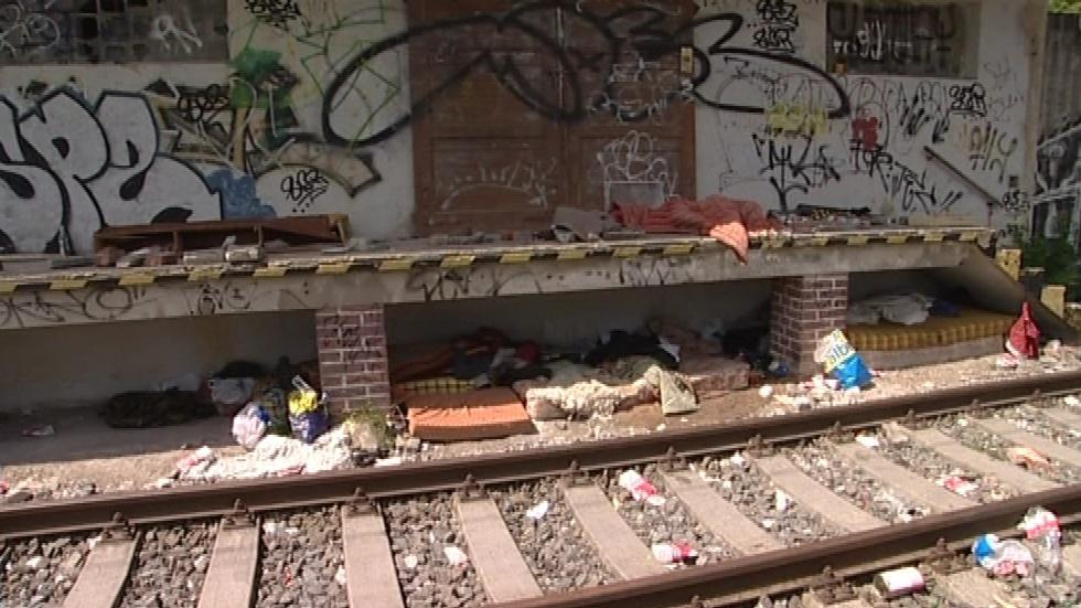 Blanenští bezdomovci zatím přespávají, kde se dá
