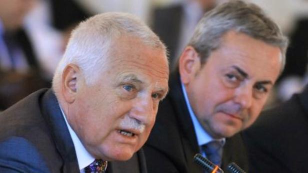 Václav Klaus na konferenci