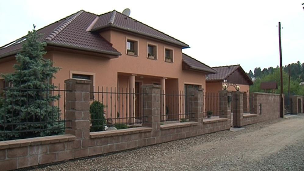 Jeden z domů v okolí Brněnské přehrady