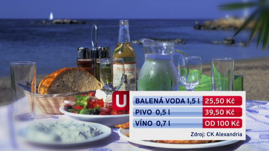 Řecké ceny