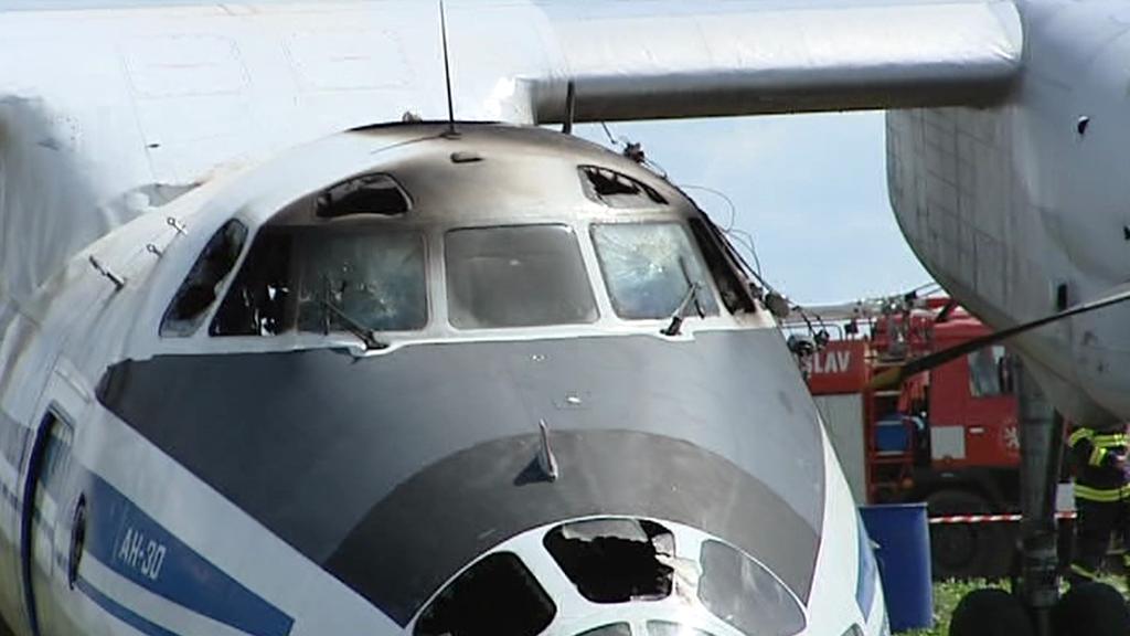 Zřícený ruský Antonov