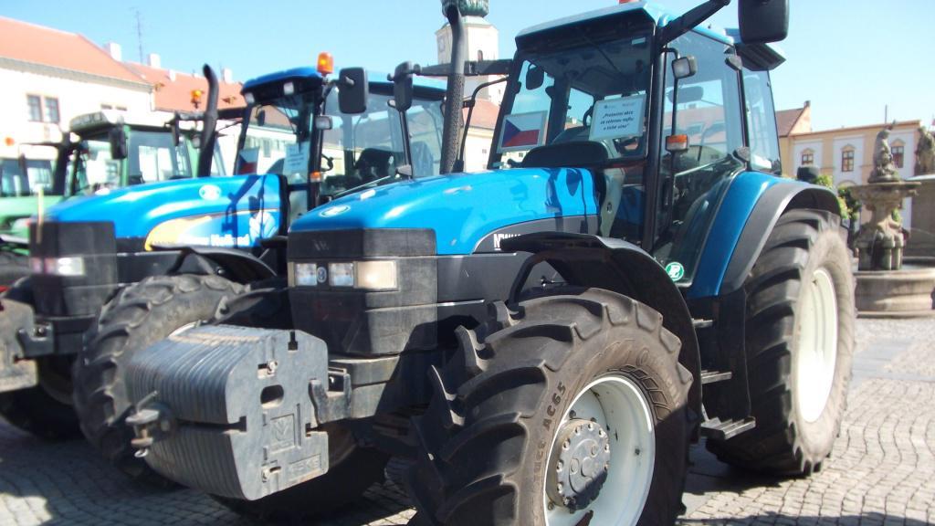 Zemědělské stroje zaplnily Kroměříž