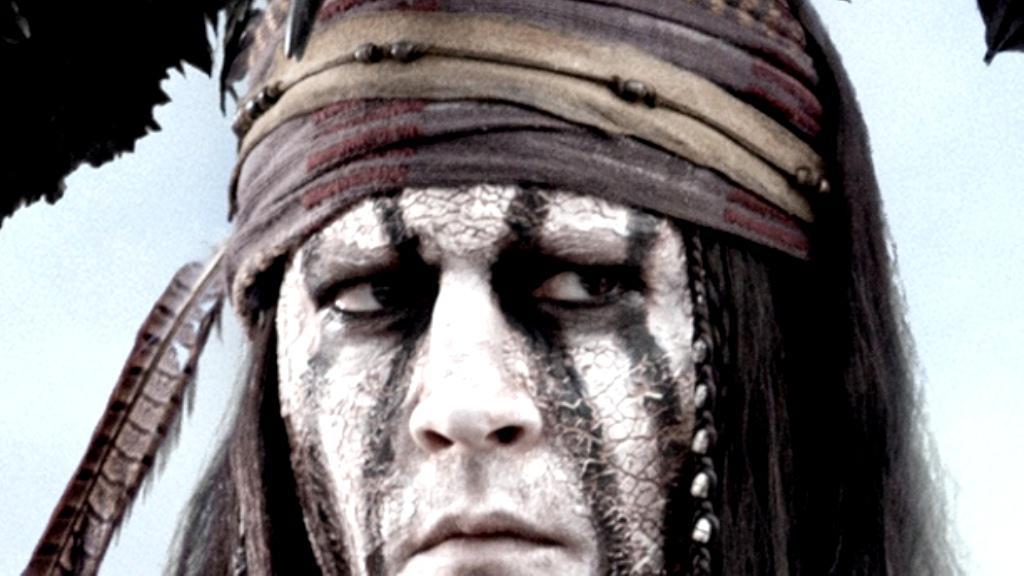 Johnny Depp jako Tonto