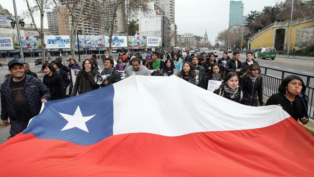 Chilská vlajka