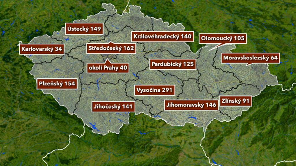 Mapa protestů