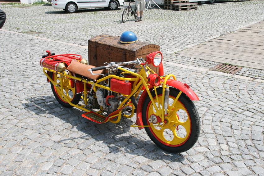 Ze srazu motocyklů značky Böhmerland