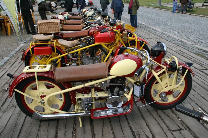 Sraz motocyklů značky Böhmerland