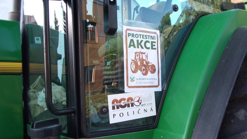 Protesty zemědělců