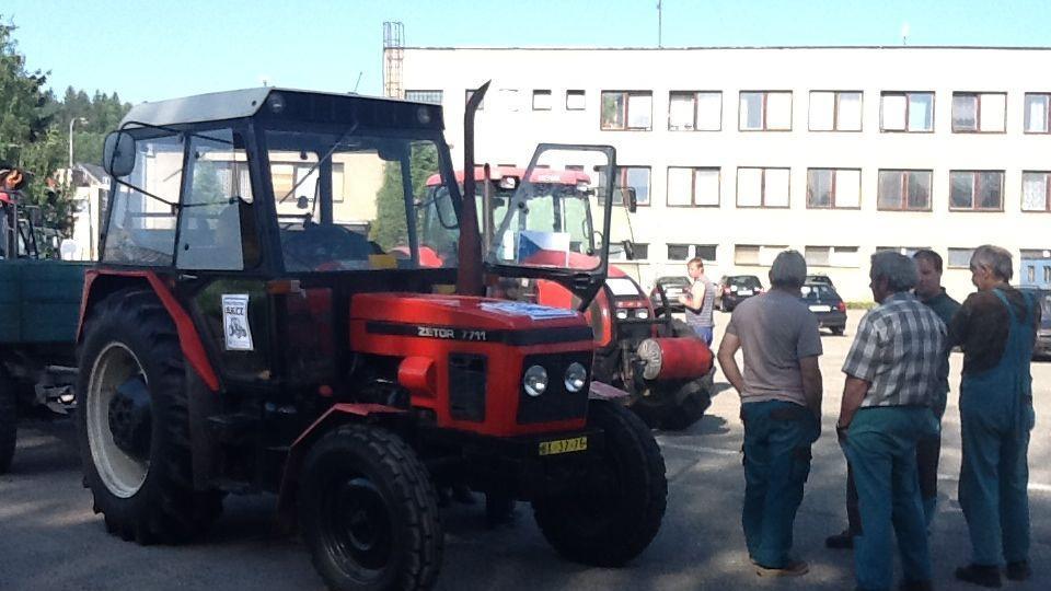 Zemědělci se připravují na protest