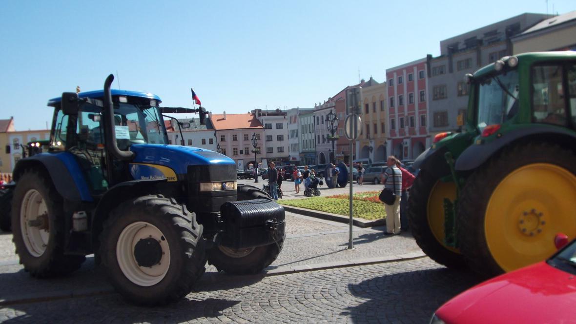 Zemědělci v Kroměříži