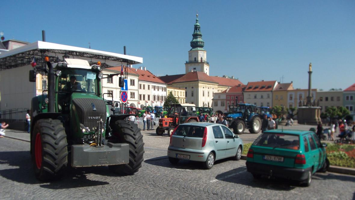 Protesty v Kroměříži