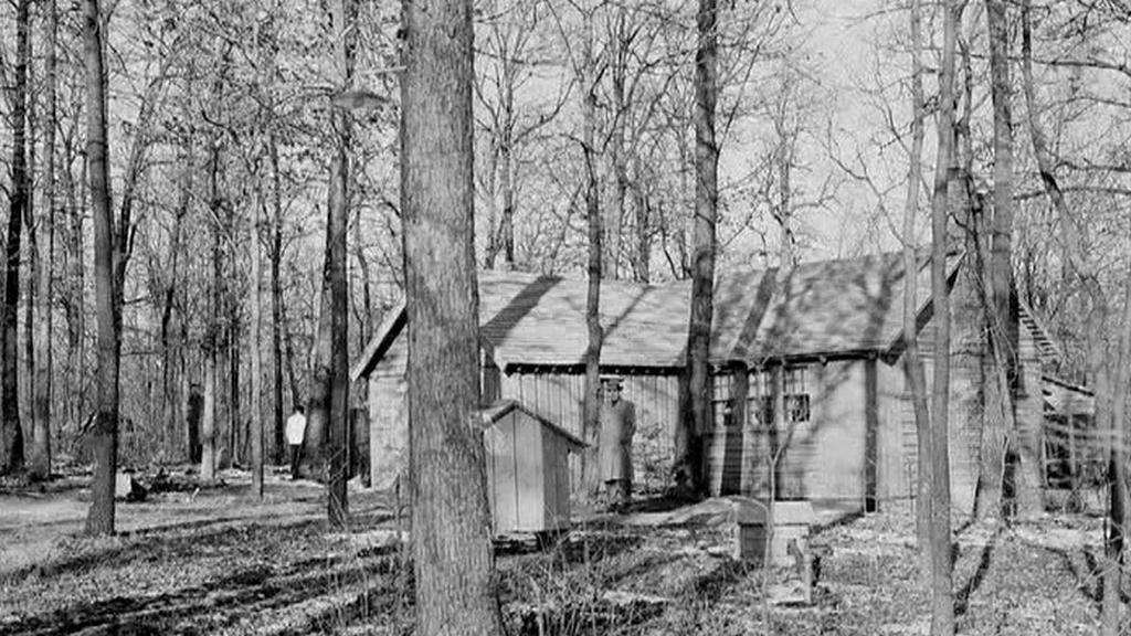 Původní podoba Camp Davidu