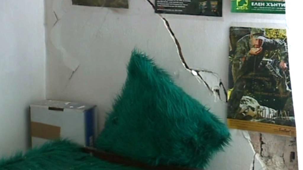 Následky zemětřesení v Bulharsku